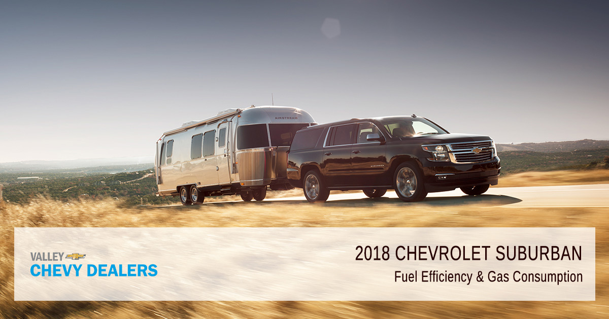 2018 Chevrolet Suburban Fuel Economy & Gas Mileage (MPG