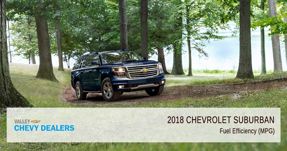2018 Chevy Suburban Fuel Efficiency - Gas Efficiency