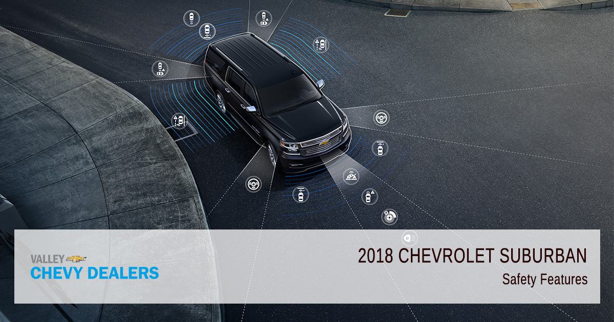 2018 Chevy Suburban Safety Rating: Crash Test: Features