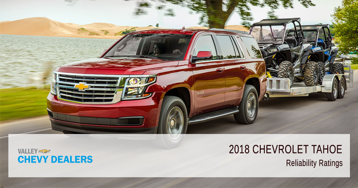Valley Chevy - 2018 Chevy Tahoe Reliability - Ratings
