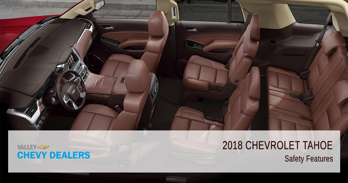 Valley Chevy - 2018 Chevy Tahoe Safety Rating - Features