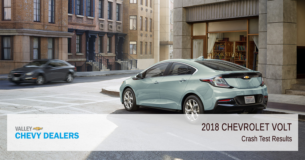 2018 Chevy Volt Safety Rating - Crash Test