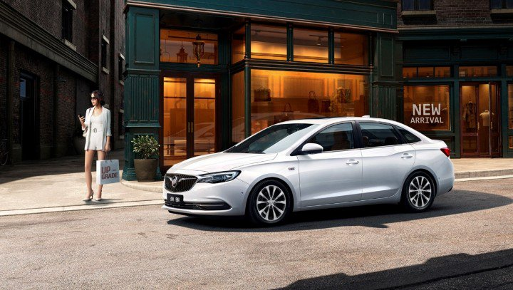 2019-Buick-Excelle-GT-exterior grey