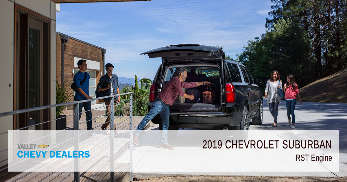 Valley Chevy - 2019 Chevy Tahoe RST Engine