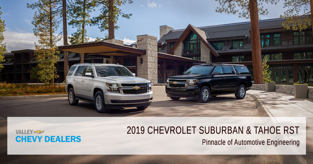 Valley Chevy - 2019 Chevy Tahoe & Suburban RST Engines - Pinnacle