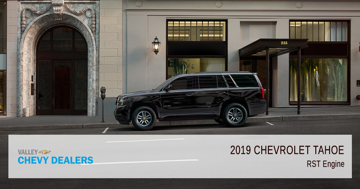 Valley Chevy - 2019 Chevy Suburban RST Engine