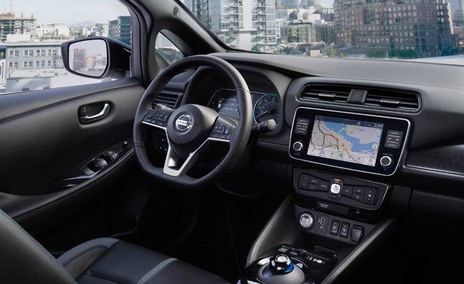 2019 Nissan Leaf Plus Interior