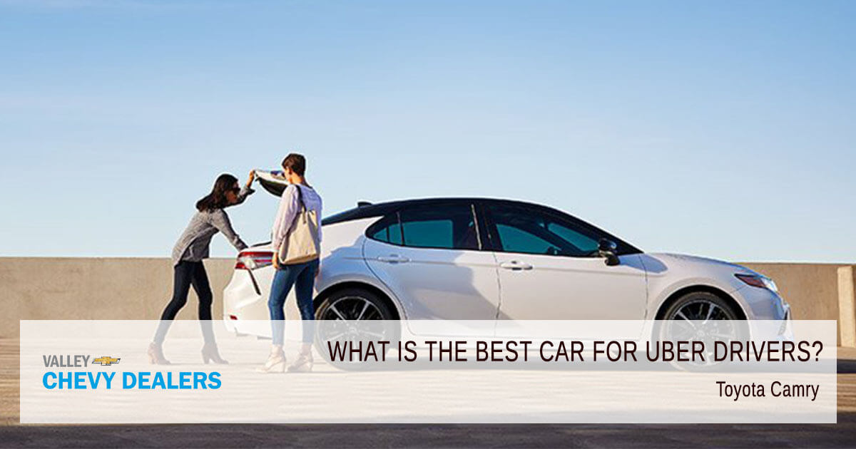 Valley Phoenix Chevy - 10 Best Cars for Uber Drivers to Own: Toyota Camry