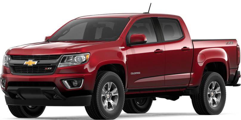 2019 Chevrolet Colorado Especificaciones & Caracteristicas ...