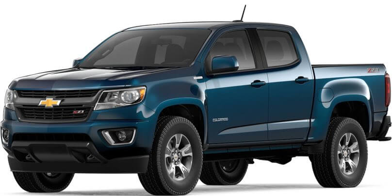 2019 Chevrolet Colorado Specs & Features | Valley Chevy