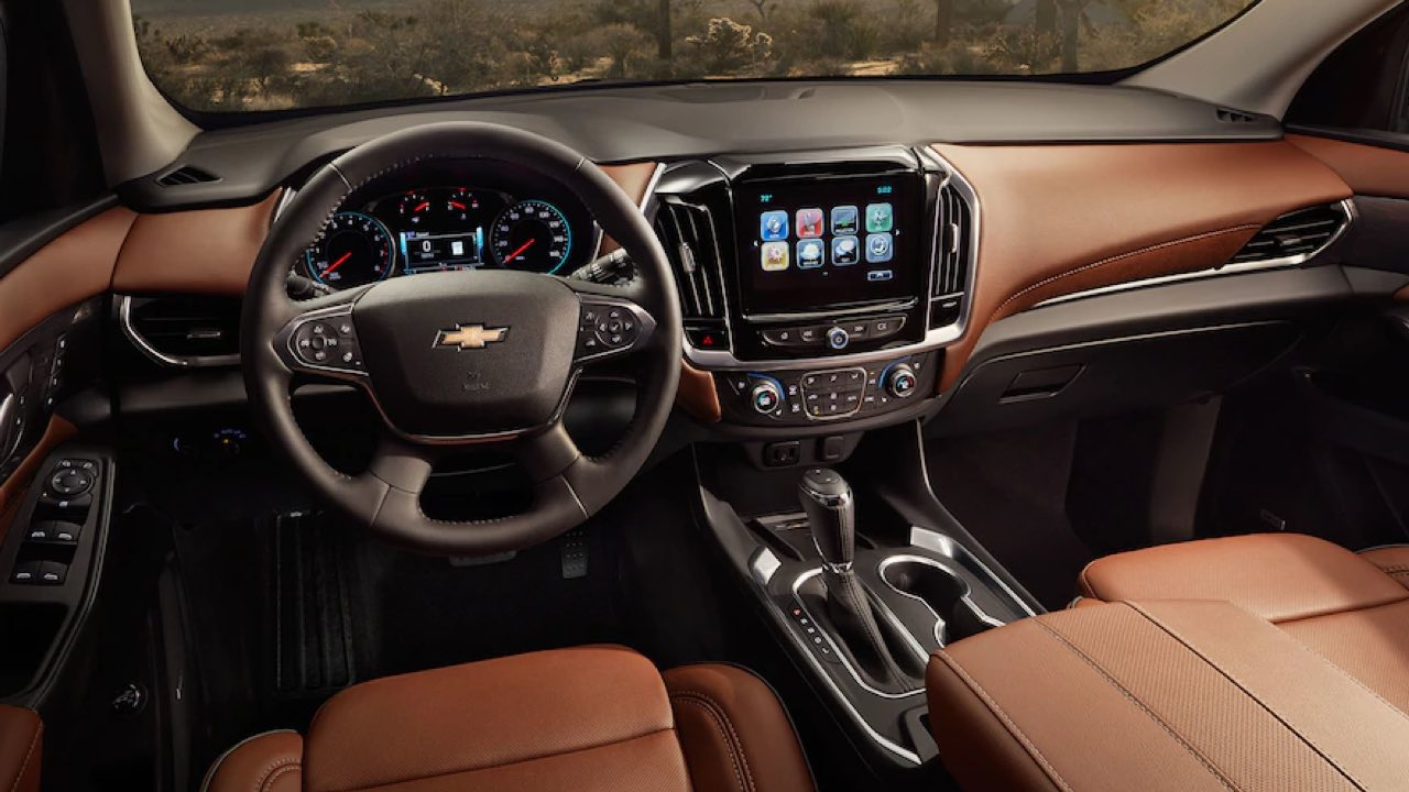 2019 Chevrolet Traverse Specs & Features | Valley Chevy