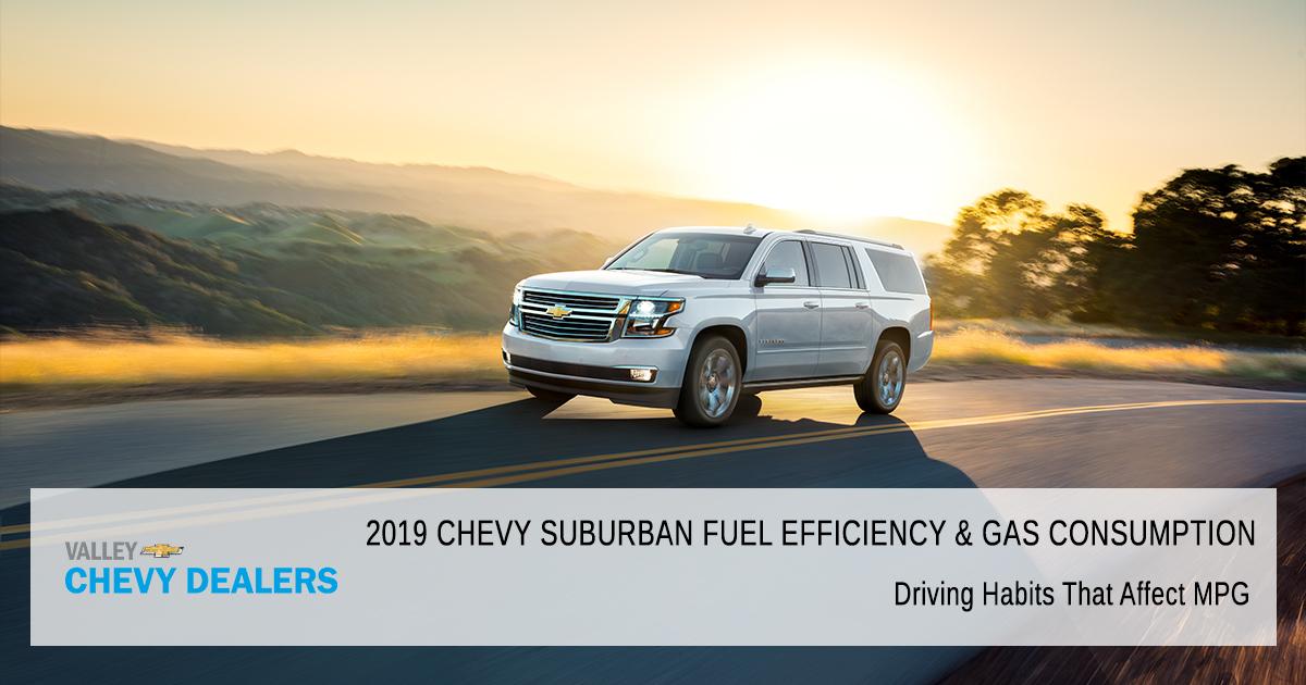 2019 Chevy Suburban Gas Mileage in Arizona | Valley Chevy