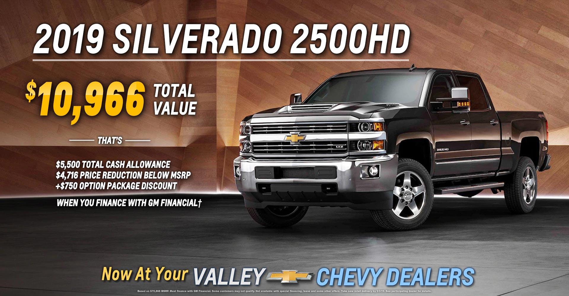 Silverado 2500HD to August 12