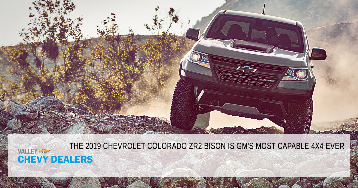Chevy Colorado Zr2 Bison Best Off Road Vehicle Phoenix Valley Chevy