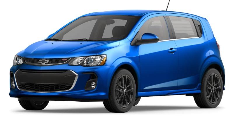 2020 Chevrolet Sonic Specs | Hatchback & Sedan | Small Car ...