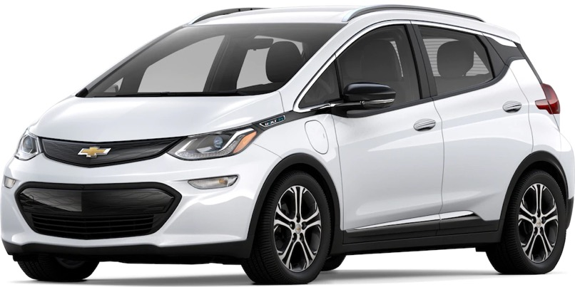 2020 Chevrolet Bolt EV Specs & Features | Valley Chevy