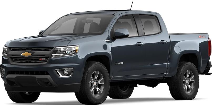 2020 Chevrolet Colorado Specs & Features - Mid-Size Truck ...