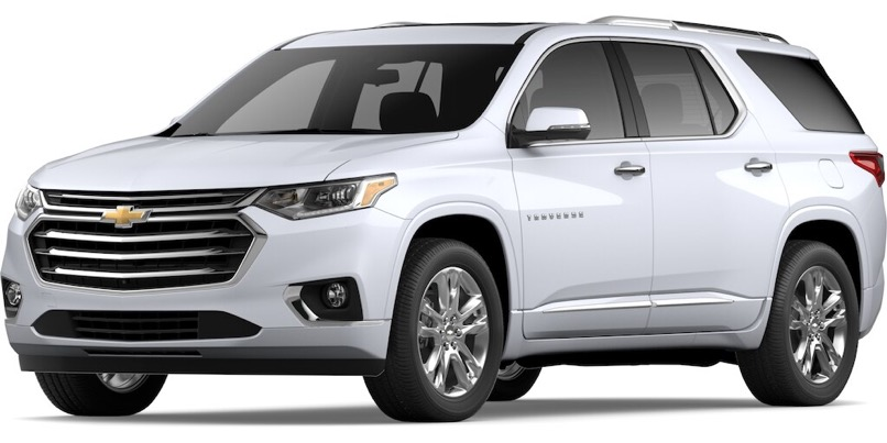 2020 Chevrolet Traverse Specs & Features | Valley Chevy
