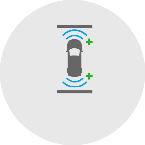 front-rear-park-assist-icon