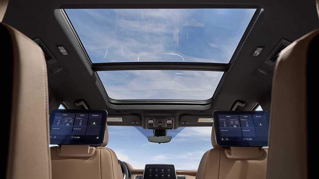 gallery-2021-suburban-view-of-sunroof-and-media-from-back-seats