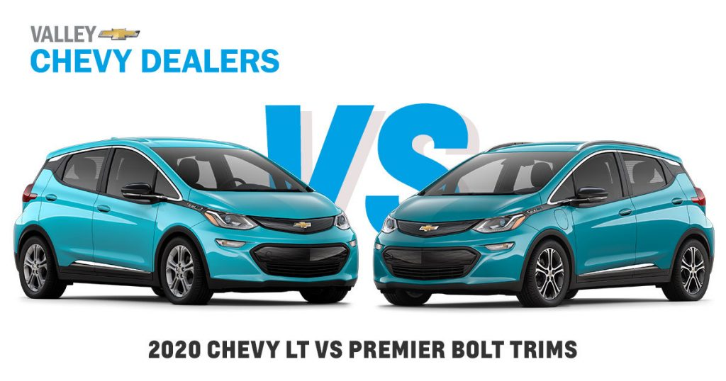 2020 Chevy Bolt Lt Vs Bolt Ev Premier Trims In Arizona Valley Chevy