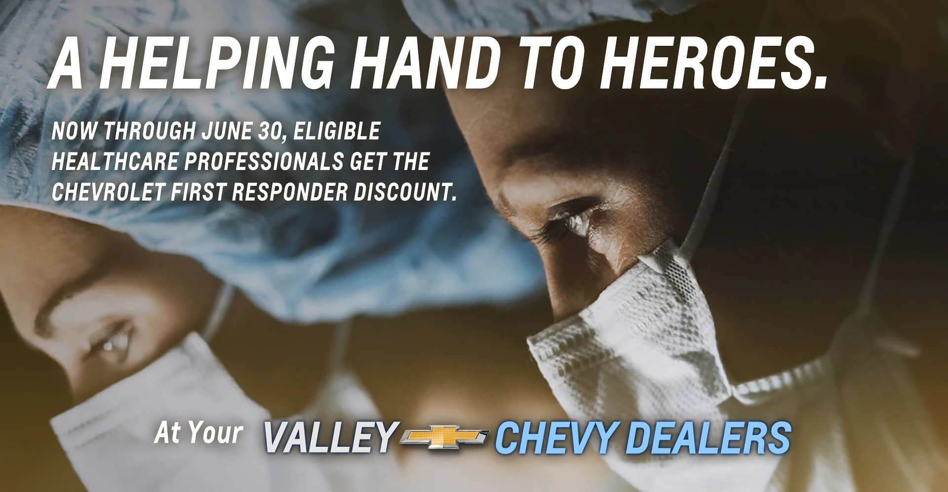 Chevy First Responder Discount Slide