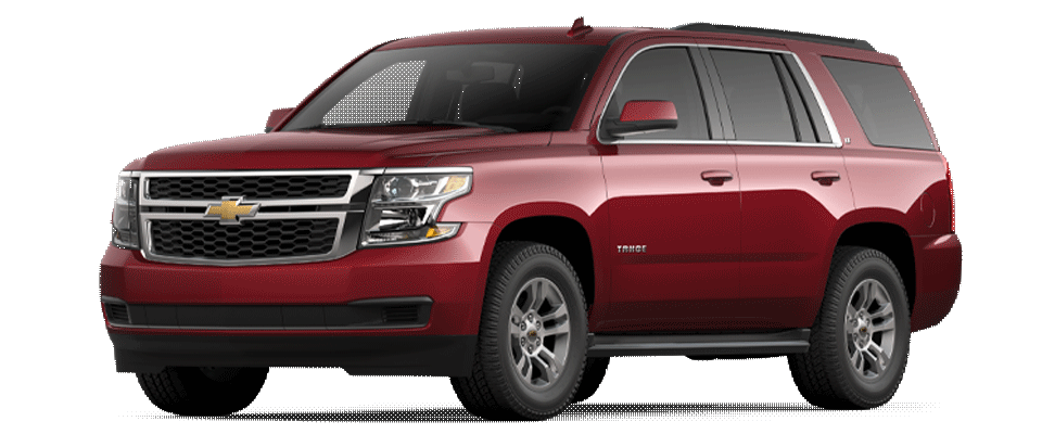 Valley Chevy - 2021 Tahoe LT in Red