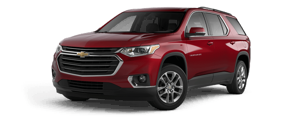 Valley Chevy - 2020 Chevrolet Traverse LT Red