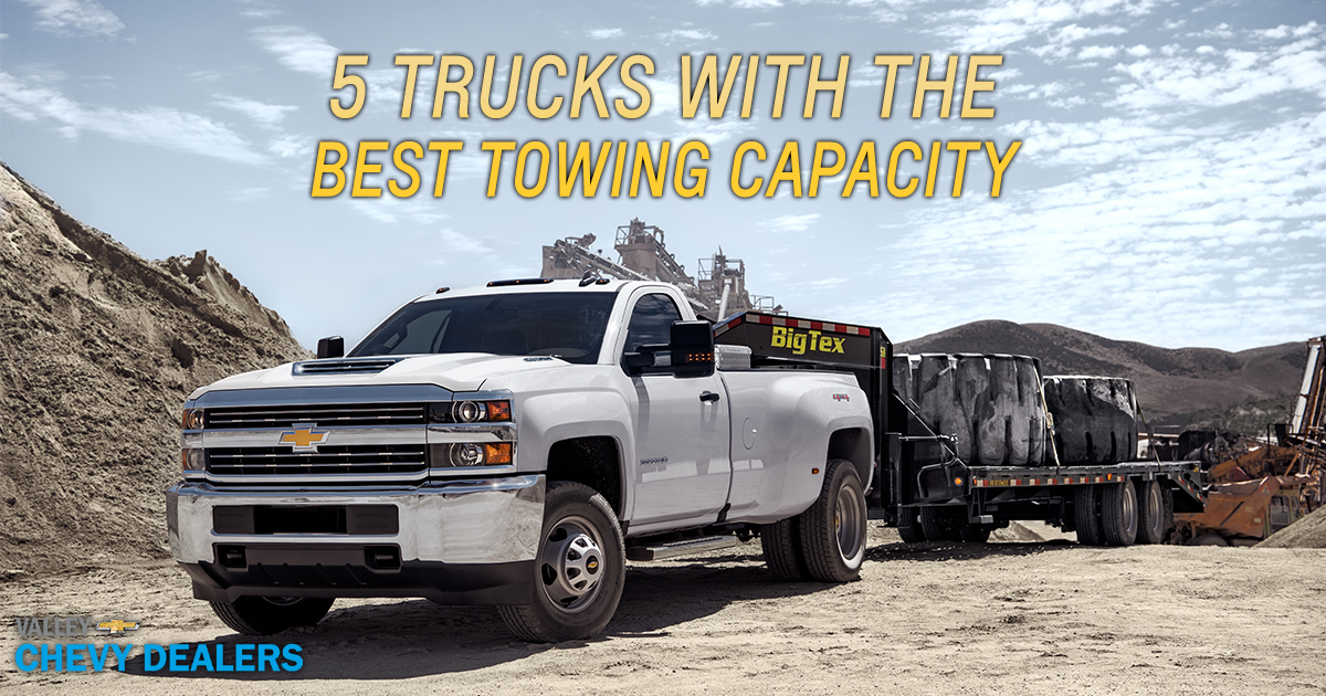 5 trucks with the best towing capacity valley chevy. Black Bedroom Furniture Sets. Home Design Ideas