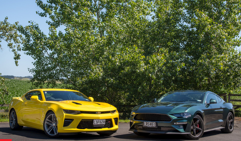Camero vs Mustang Muscle 2