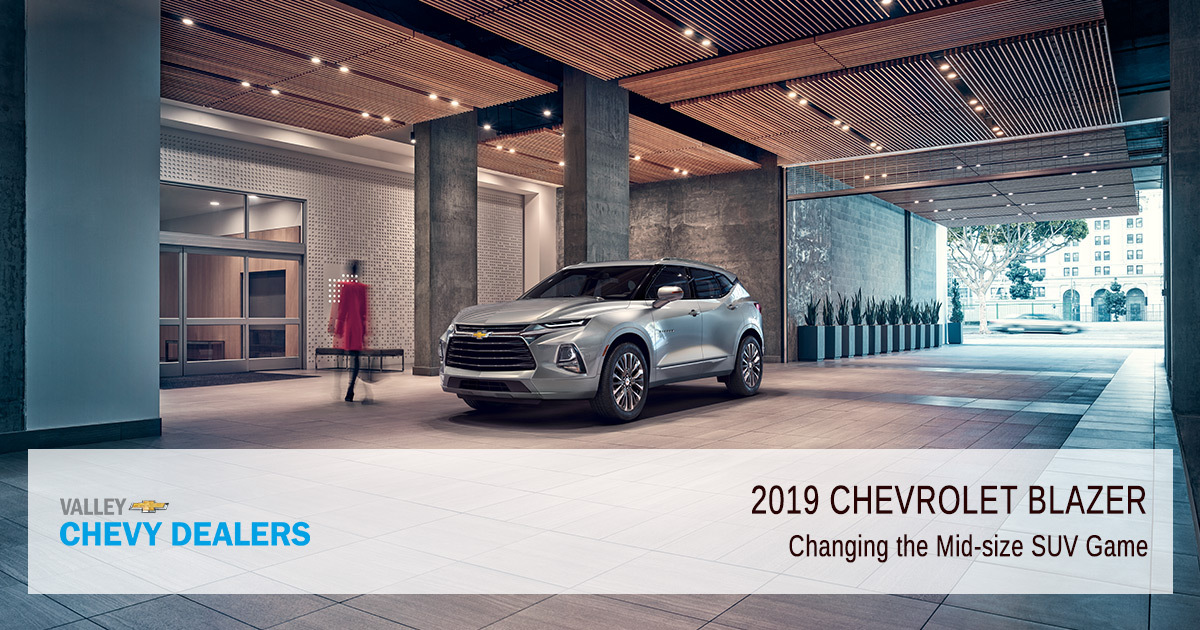 2019 Chevrolet Blazer Trims Features Valley Chevy