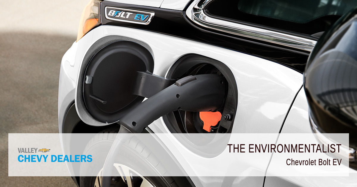 What Chevy Car Fits My Personality - Bolt EV
