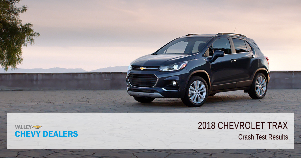 2018 Chevy Trax Safety Rating - Crash Test