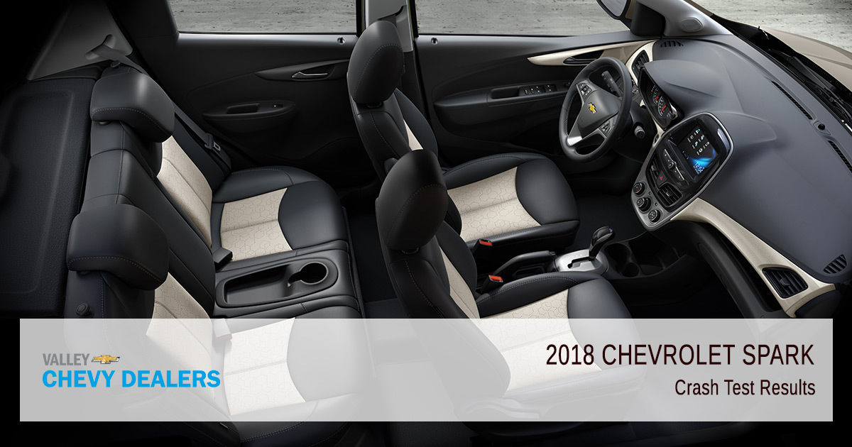 2018 Chevy Spark Safety Rating - Crash Test