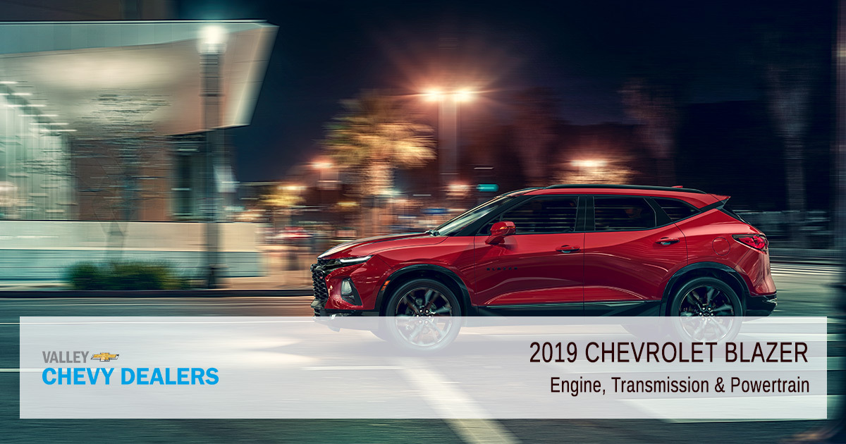 Introducing the 2019 Chevy Blazer - Engine Transmission
