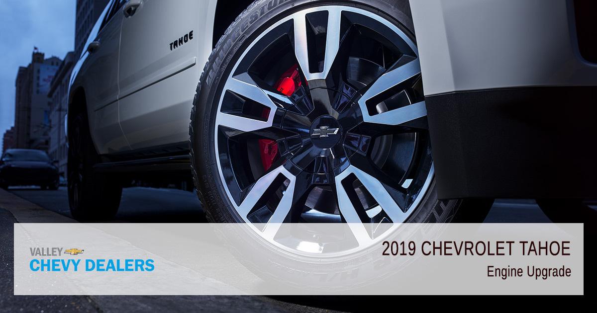 2019 Chevrolet Tahoe - Engine