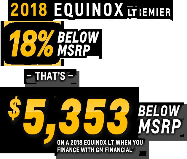 Equinox LT Incentive