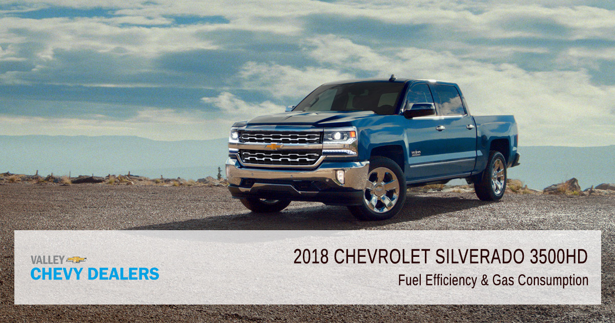 2018 Chevrolet Silverado 3500HD Fuel Economy & Gas Mileage ...