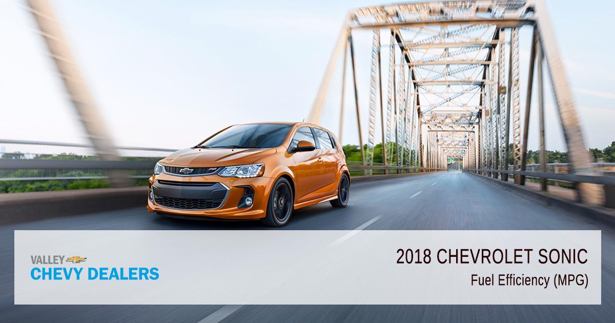 2018 Chevy Sonic Fuel Efficiency - MPG