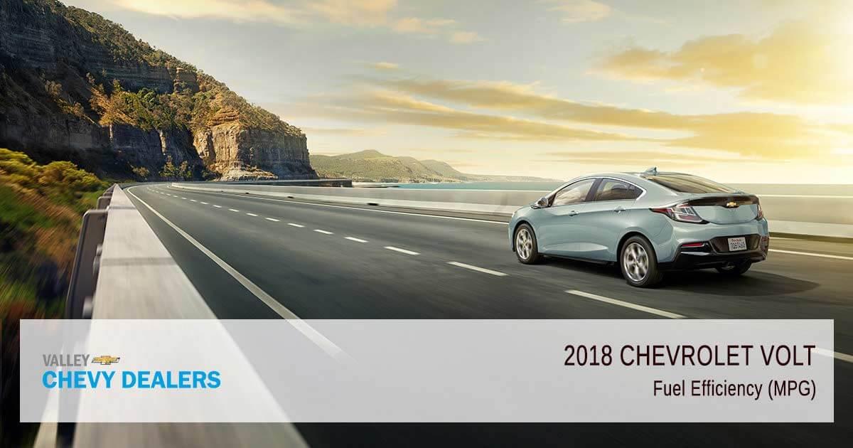 2018 Chevy Volt Fuel Efficiency - MPG