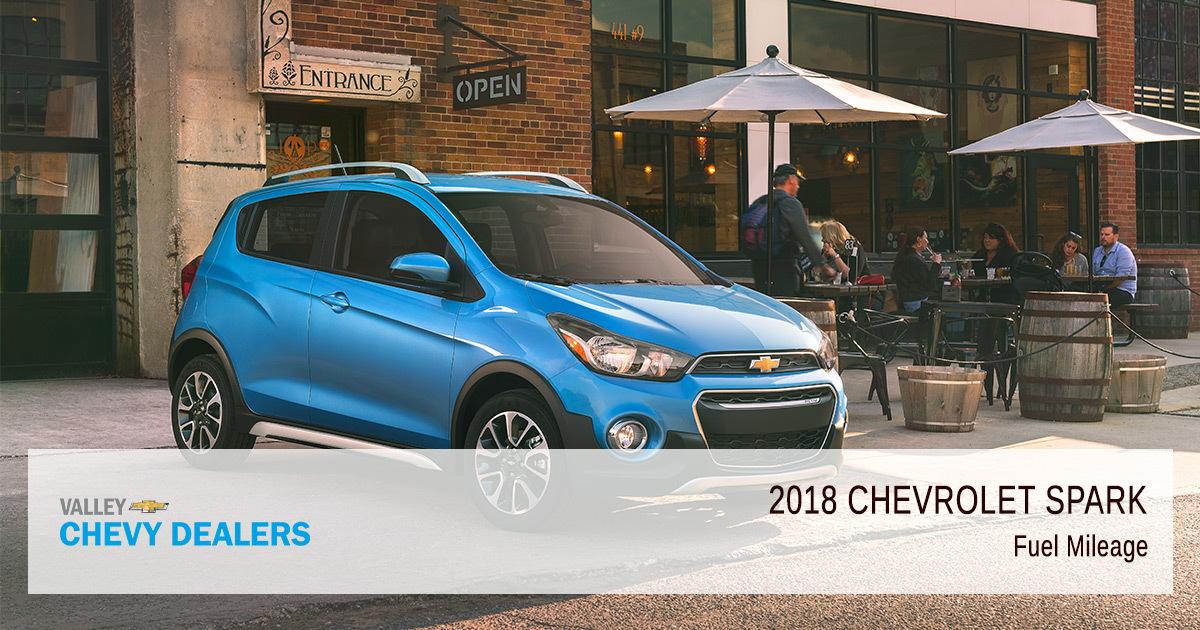2018 Chevrolet Spark Fuel Economy Rendimiento De La Gasolina Mpg