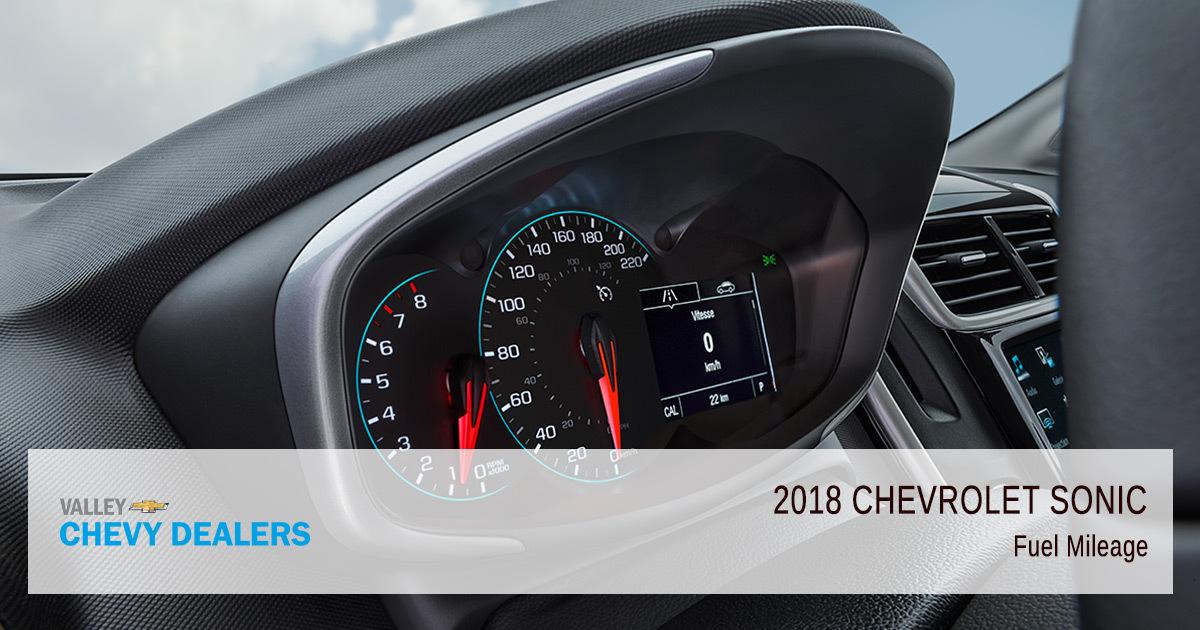 2018 Chevy Sonic Fuel Efficiency - Mileage