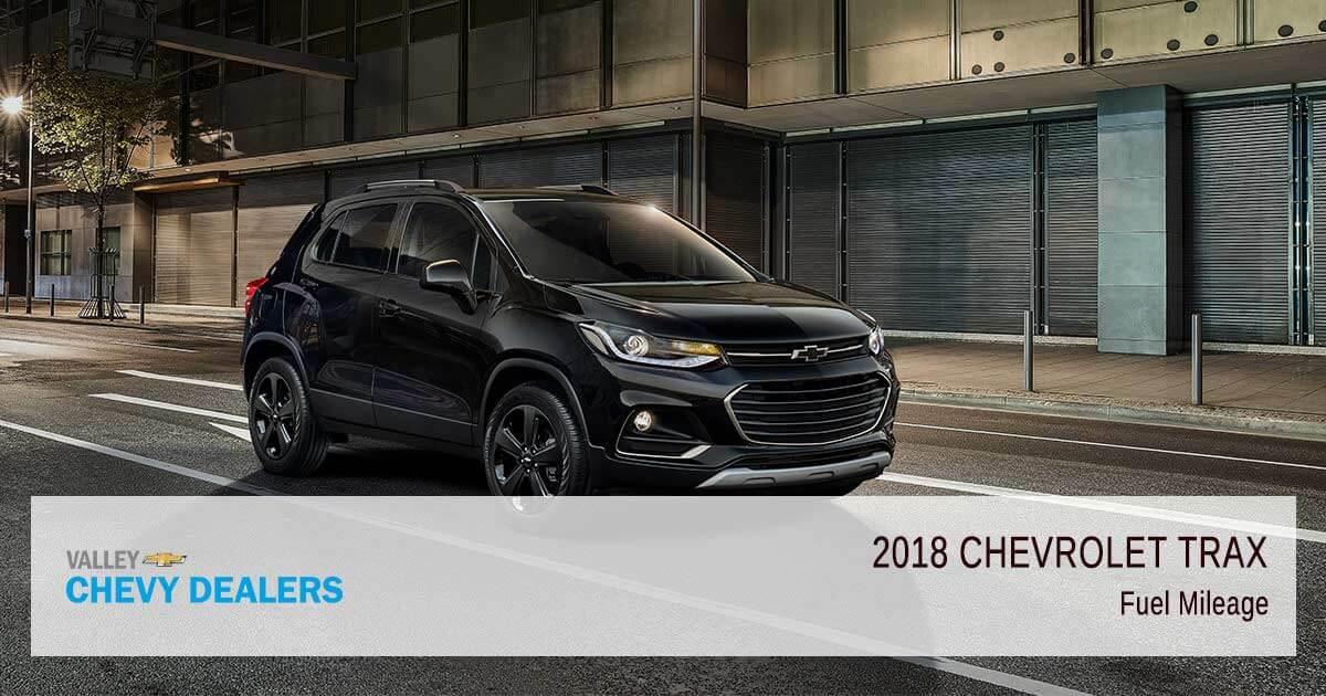 2018 Chevrolet Trax Fuel Economy Rendimiento De La Gasolina Mpg