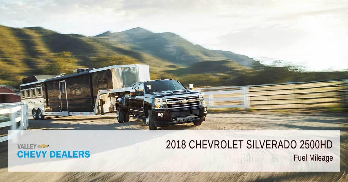 2018 Chevrolet Silverado 2500HD Fuel Economy & Gas Mileage (MPG