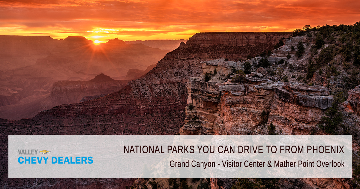 Grand Canyon  Visitor Center & Mather Point Overlook