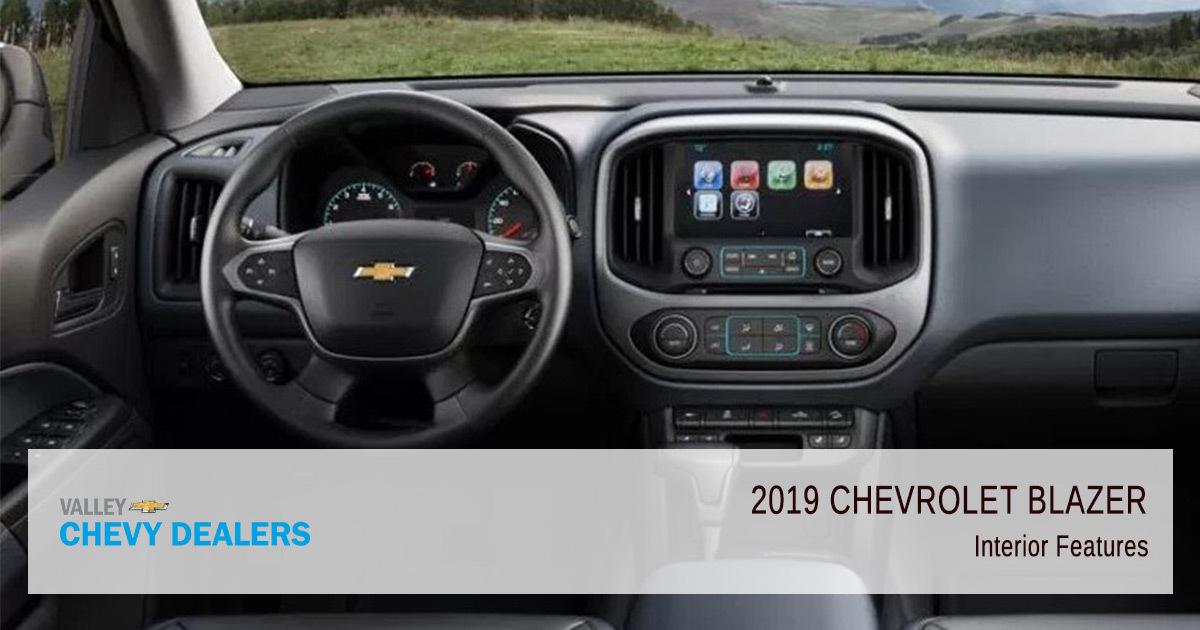 2019 Chevrolet Blazer Trims Features Valley Chevy