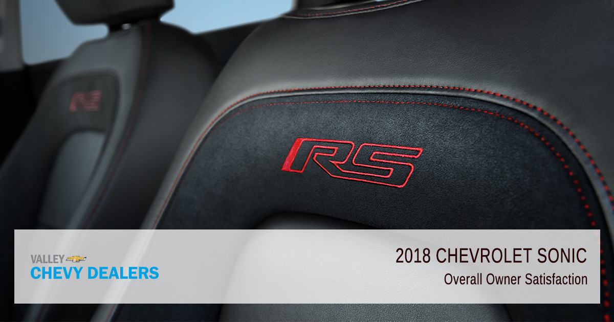 2018 Chevy Sonic Reliability - Owner Satisfaction