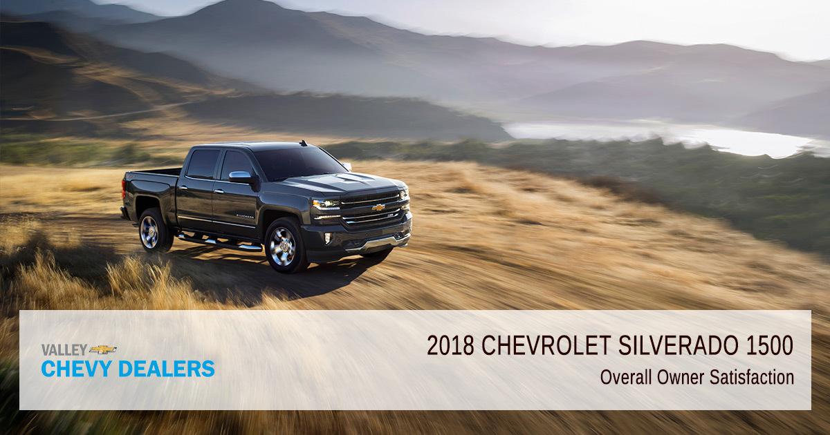 2018 Chevrolet Silverado 1500 Reliability & Satisfaction Ratings - Owner-Satisfaction
