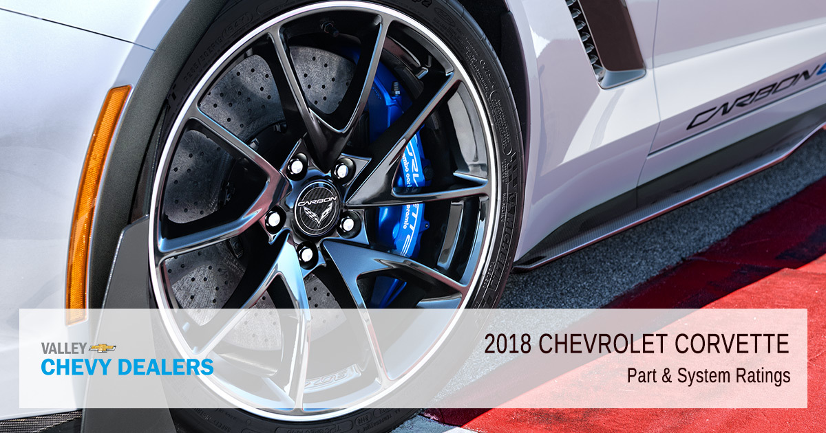 2018 Chevrolet Corvette Customer Satisfaction Parts and System