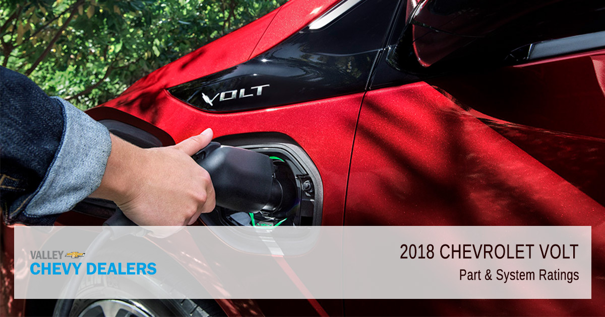 2018 Chevy Volt - Parts & Systems
